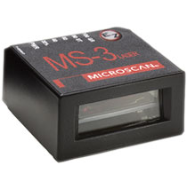 MS-3 Ultra Small Barcode Scanner