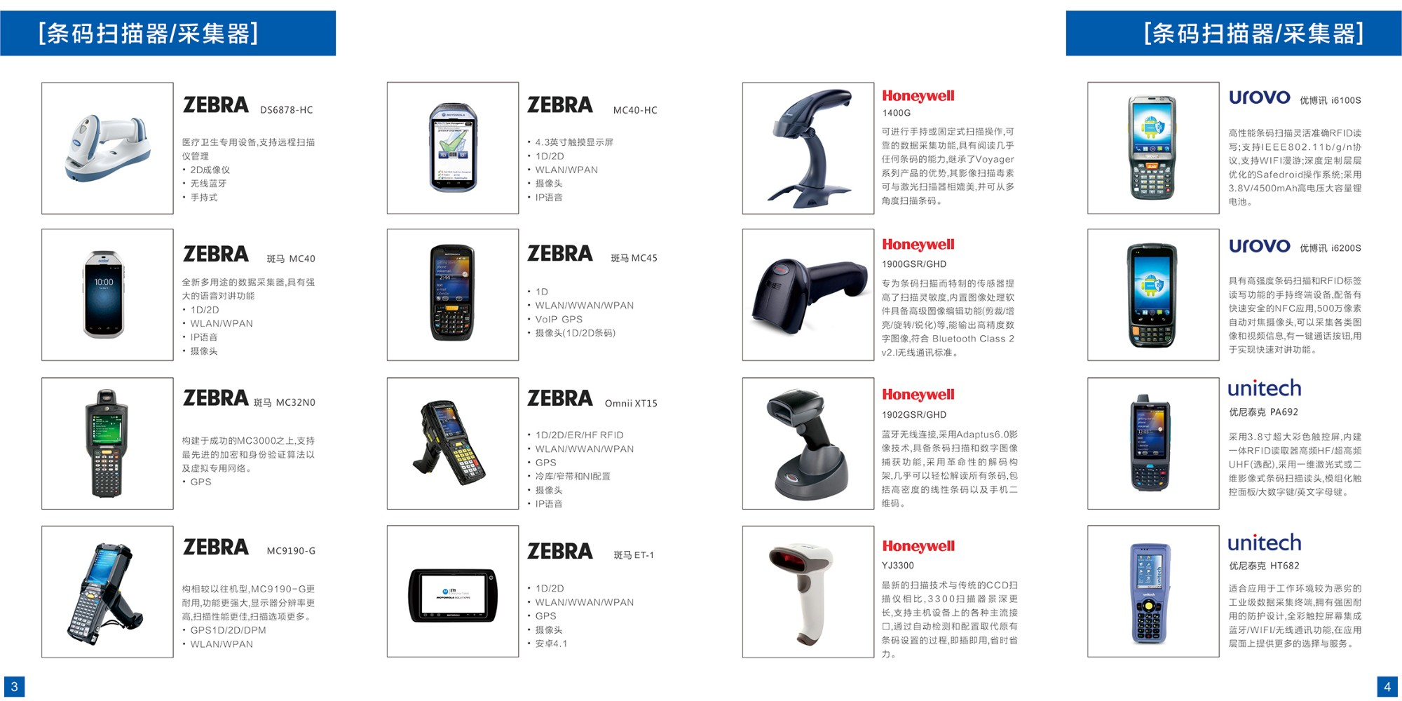 Barcode scanners collector